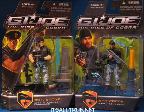 Review: G I  Joe Rise of Cobra Shipwreck and Sgt  Stone « It