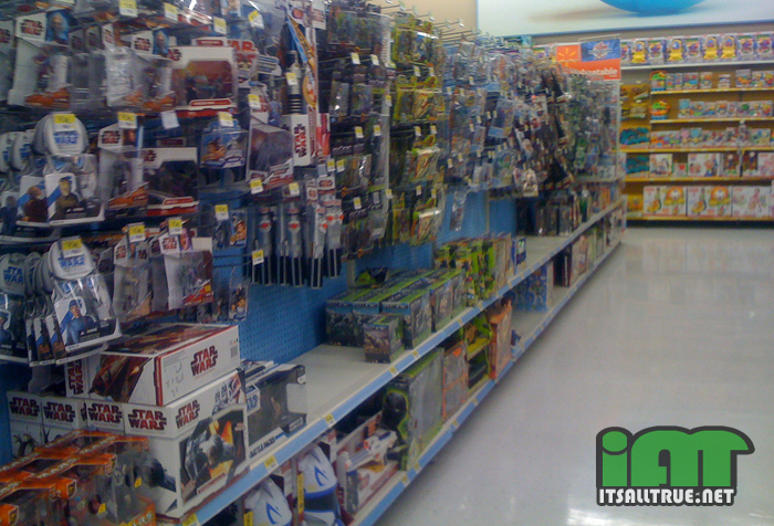 Walmart Toy Aisle Boys : The color of gender