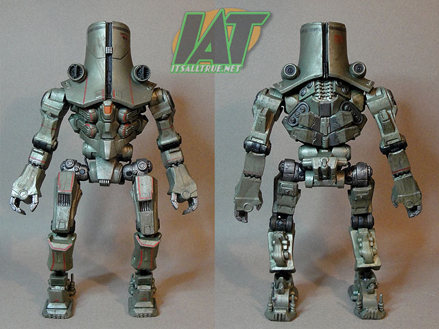While I chose Cherno Alpha for  Pacific Rim Cherno Alpha Toy